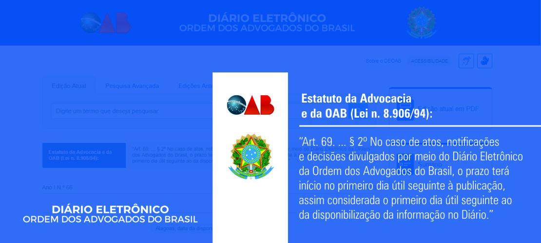Diário Eletrônico da OAB