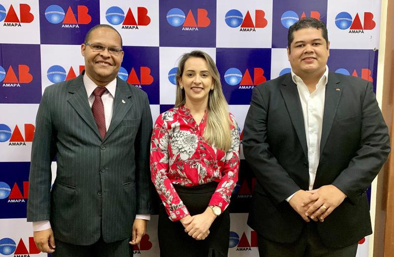 OAB/AP recebe visita da Associação dos Advogados do Brasil - ABA