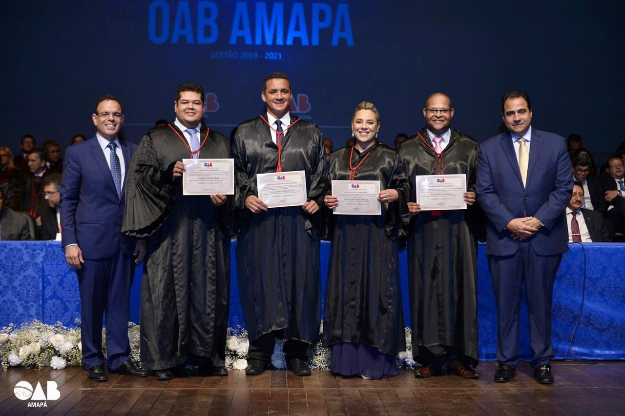 Gestão 2019-2021 toma posse com a presença de autoridades locais e Nacionais da OAB