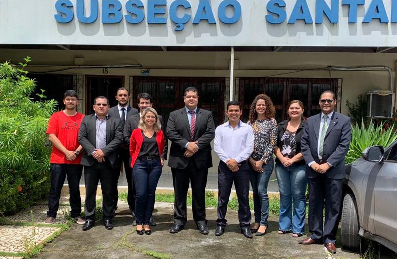 Diretoria da OAB/AP visita Subseção de Santana para alinhamento dos trabalhos de gestão