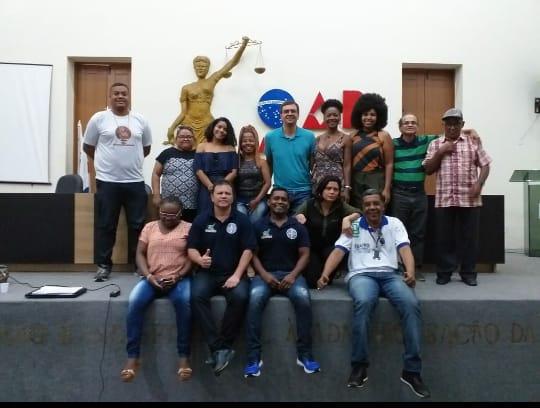 Comissões da OAB/AP participam de curso de Capacitação de Políticas Públicas em Igualdade Racial