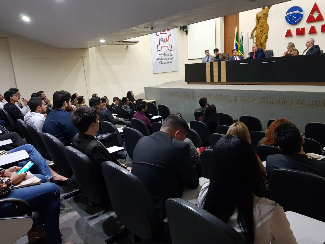 CEO do maior escritório de Advocacia do Brasil palestra para advogados da OAB/AP