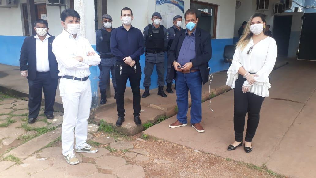 OAB/AP acompanha inspeção na saúde e alimentação de apenados do regime fechado no Iapen