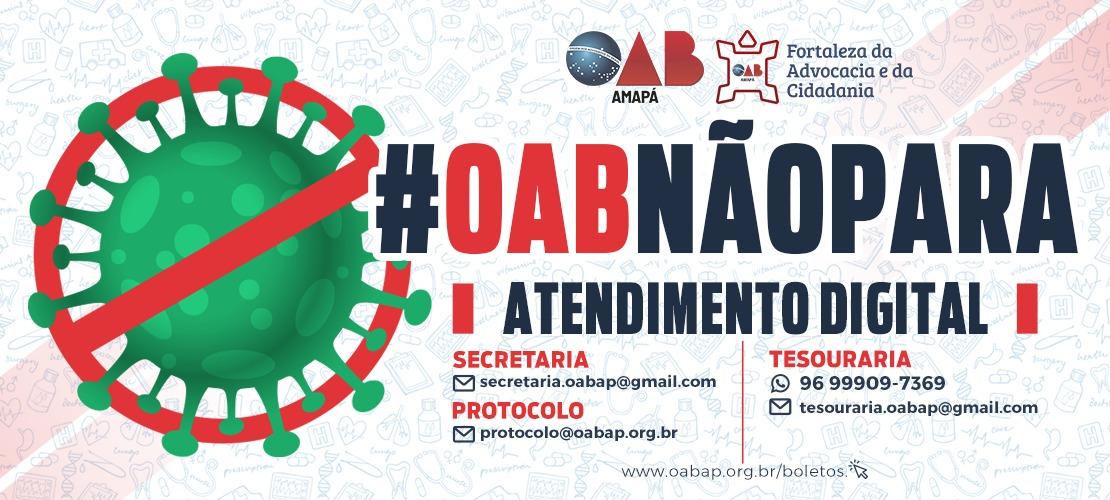 #OABNÃOPARA