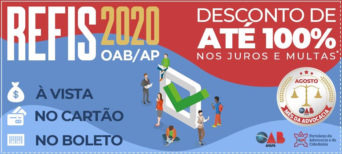 REFIS OAB-AP 2020