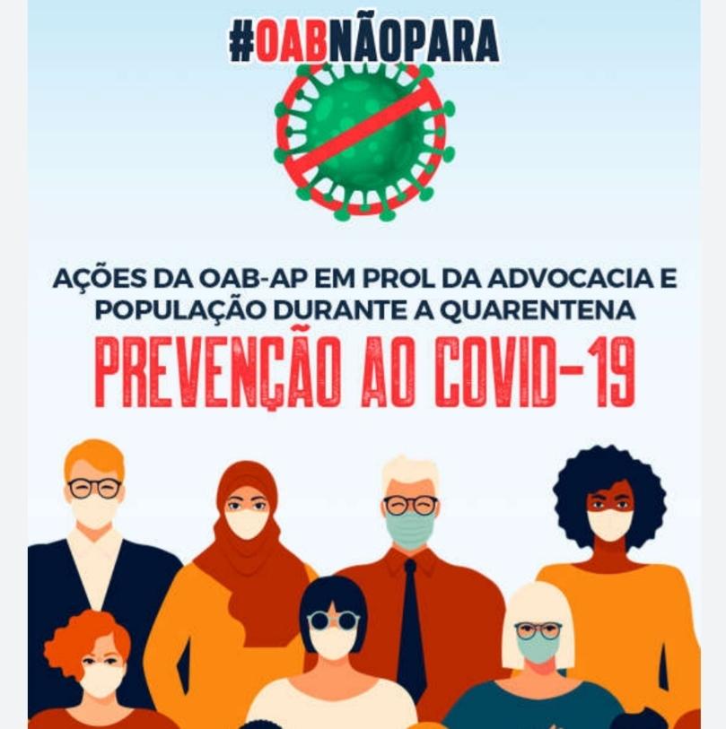 Informativo OAB Amapá - Quarentena