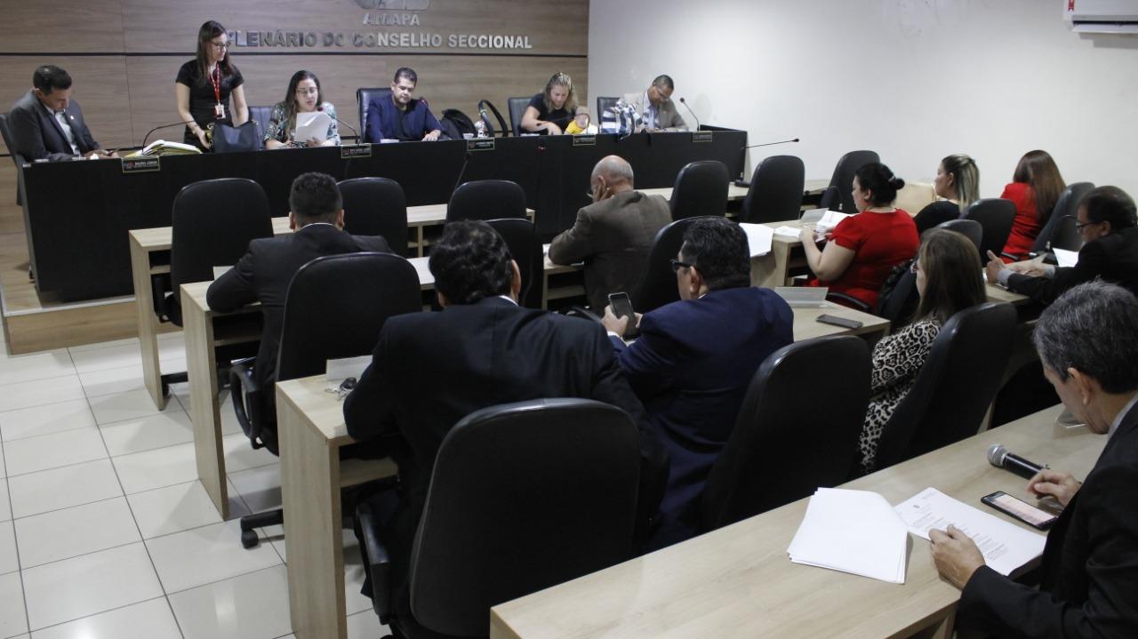 Conselho Seccional da OAB/AP se reúne em sua 35ª Sessão Ordinária