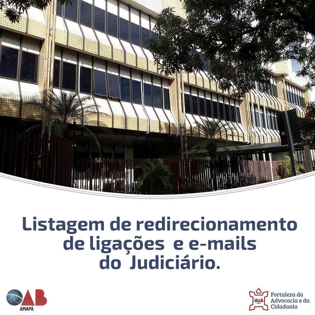 OAB-AP reforça contatos do Judiciário à advocacia neste período de pandemia