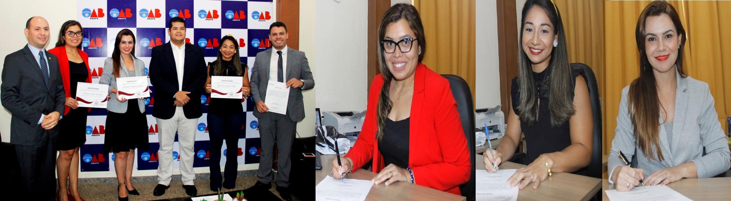 Membros da Comissão de Direito Eleitoral tomam posse na OAB-AP