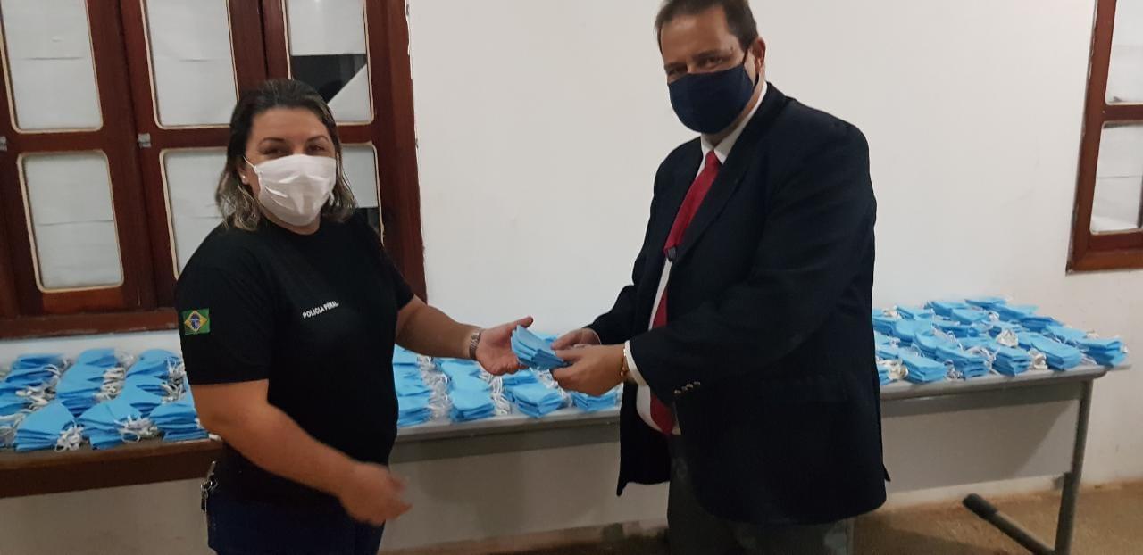 OAB-AP recebe primeiros produtos confeccionados pelo Programa de Laborterapia Solidária
