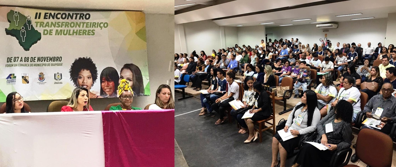 OAB-AP presente no II Encontro Transfronteiriço de Mulheres, em Oiapoque